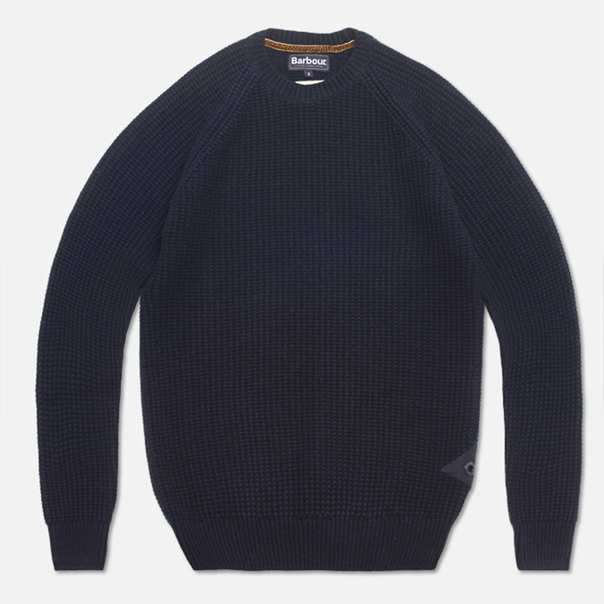 Barbour Riverton Sweater Navy