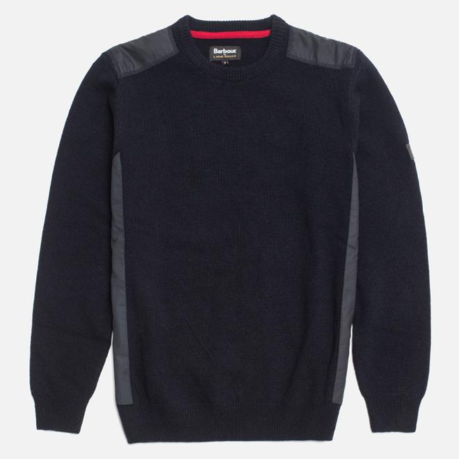 Мужской свитер Barbour x Land Rover Crook Navy