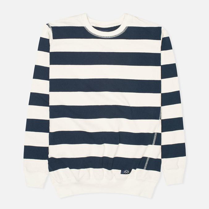 Мужской свитер Bleu De Paname Marin Jersey Ecru/Bleu Nuit