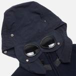 Мужской свитер C.P. Company Goggle Hooded Cardigan Navy фото- 2