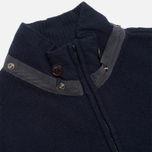 Мужской свитер C.P. Company Goggle Hooded Cardigan Navy фото- 3