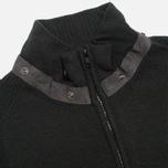 Мужской свитер C.P. Company Goggle Hooded Cardigan Olive фото- 3