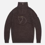 Мужской свитер Fjallraven Red Fox Black/Brown фото- 0