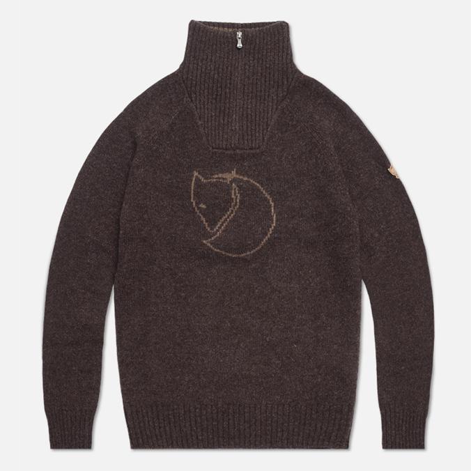 Мужской свитер Fjallraven Red Fox Black/Brown