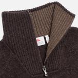 Мужской свитер Fjallraven Red Fox Black/Brown фото- 1