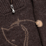 Мужской свитер Fjallraven Red Fox Black/Brown фото- 3