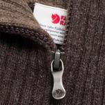 Мужской свитер Fjallraven Red Fox Black/Brown фото- 2
