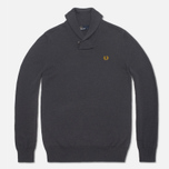 Fred Perry Classic Shawl Sweater Graphite Marl photo- 0