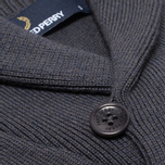 Fred Perry Classic Shawl Sweater Graphite Marl photo- 3
