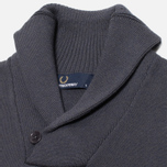 Fred Perry Classic Shawl Sweater Graphite Marl photo- 1