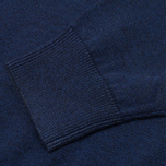 Мужской свитер Fred Perry Classic Shawl Navy Marl фото- 4