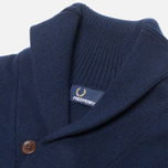 Мужской свитер Fred Perry Classic Shawl Navy Marl фото- 1
