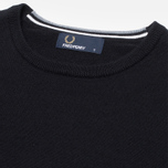Мужской свитер Fred Perry Classic Tipped Crewneck Black фото- 2