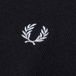 Мужской свитер Fred Perry Classic Tipped Crewneck Black фото- 1