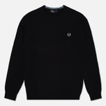 Мужской свитер Fred Perry Classic Tipped Crew Neck Navy фото- 0