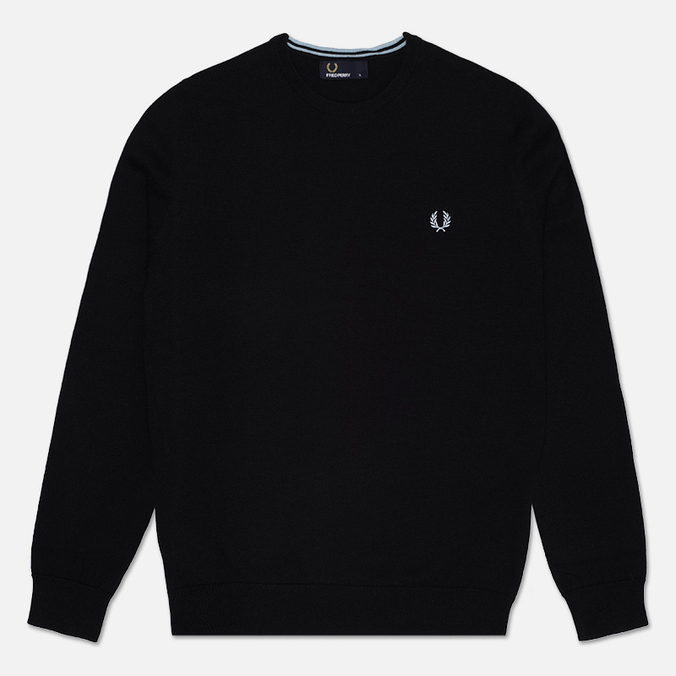 Мужской свитер Fred Perry Classic Tipped Crew Neck Navy