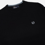Мужской свитер Fred Perry Classic Tipped Crew Neck Navy фото- 1