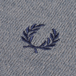 Fred Perry Classic Tipped Crewneck Sweater Steel Marl photo- 2