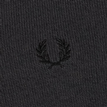 Мужской свитер Fred Perry Classic Tipped V Neck Graphite фото- 2