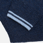Мужской свитер Fred Perry Island Knit Navy фото- 3