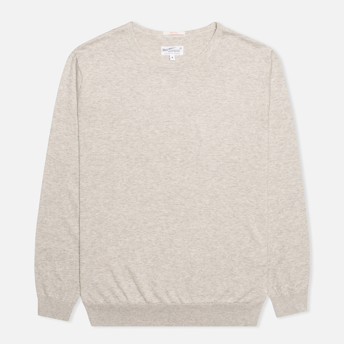 Gant Rugger The Crue Sweater Light Grey Melange