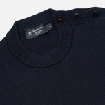 Мужской свитер Hackett Breton Stripe Crew Neck Navy/White фото- 1