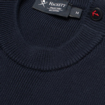 Мужской свитер Hackett Breton Stripe Crew Neck Navy/White фото- 2