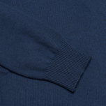 Мужской свитер Hackett Pima V Neck Logo Navy фото- 3