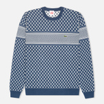Lacoste Live Herringbone Tennis Net Sweater Philippines Blue/Flour photo- 0