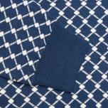 Мужской свитер Lacoste Live Herringbone Tennis Net Philippines Blue/Flour фото- 4