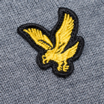 Мужской свитер Lyle & Scott V-Neck Merino Mid Grey Marl фото- 2
