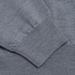 Lyle & Scott V-Neck Merino Sweater Mid Grey Marl photo- 3