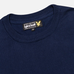 Мужской свитер Lyle & Scott Crew Neck Knit New Navy фото- 1