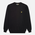 Мужской свитер Lyle & Scott Crew Neck Knit True Black фото- 0