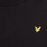Мужской свитер Lyle & Scott Crew Neck Knit True Black фото- 2