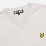 Мужской свитер Lyle & Scott V Neck Knit Light Grey Marl фото- 1