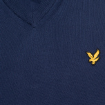 Мужской свитер Lyle & Scott V Neck Knit New Navy фото- 2