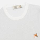 Женский свитер Maison Kitsune Shiny Ecru/Silver фото- 1