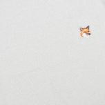 Женский свитер Maison Kitsune Shiny Ecru/Silver фото- 2