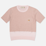 Женский свитер Maison Kitsune Shiny Light Pink фото- 0