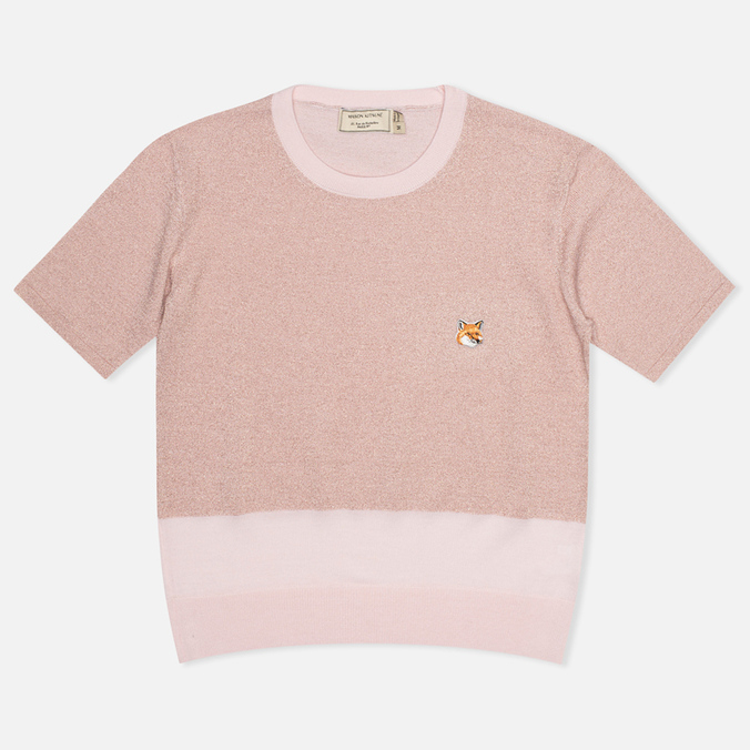 Женский свитер Maison Kitsune Shiny Light Pink