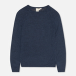 YMC Lightweight Crew Neck Women's Sweater Navy Mel  photo- 0