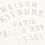 Maison Kitsune Crew Neck Print Palais Royal Curve Women's Sweatshirt Cream photo- 3
