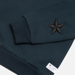 Мужская толстовка adidas Originals Star Crewneck Navy фото- 2