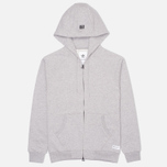 Мужская толстовка adidas Originals Star Zip Hoody Grey фото- 0