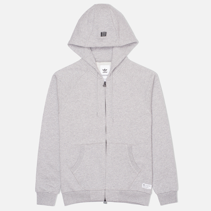Мужская толстовка adidas Originals Star Zip Hoody Grey