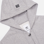Мужская толстовка adidas Originals Star Zip Hoody Grey фото- 1
