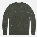 Barbour Beater Crew Forest Green photo- 0