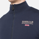 Мужская толстовка Barbour Pride Zip Thru Jumper Dark Navy фото- 5
