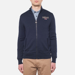 Мужская толстовка Barbour Pride Zip Thru Jumper Dark Navy фото- 4